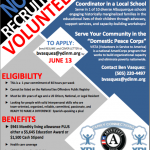 Recruiting flyer with some valuable information. Click to enlarge.