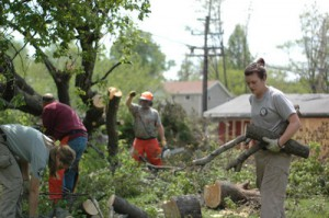 In the Aftermath of a Deadly Tornado, AmeriCorps Volunteers Were Deployed