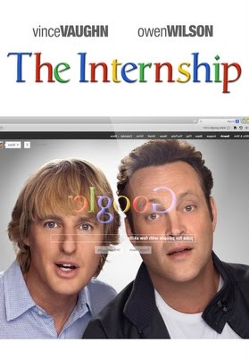 Internship movie - word Google is used about 70 times