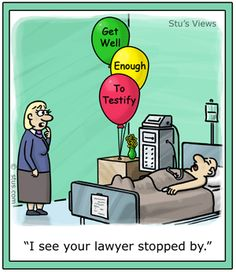 In the event you thought this was going to be a lawyer joke blog post, we thought we'd at least give you one.