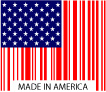 Kleer-Fax Made in USA flag