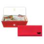 15854 Coupon Wallet Scarlet Red