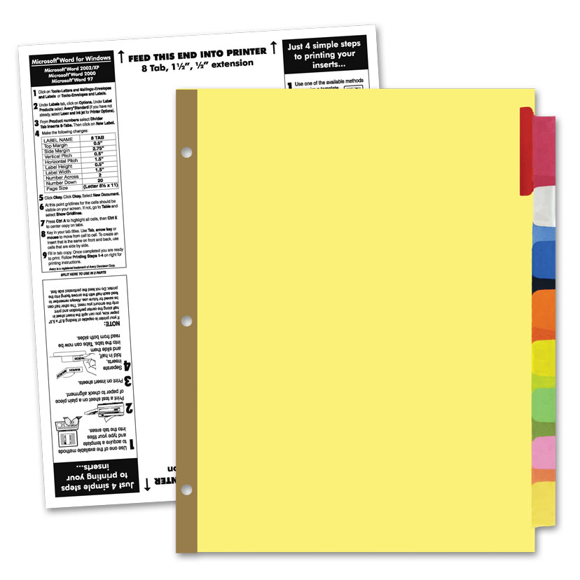 avery ready index tabs template | teamxeo.tk