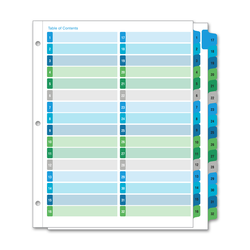 Avery Ready Index Tabs Template File Divider Template Amitdhull