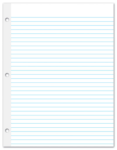 wide ruled notebook paper template – Printable College Ruled Paper